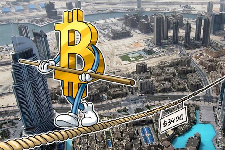 El precio de Bitcoin deja los $ 4.000 y podría situarse en los $ 3.400