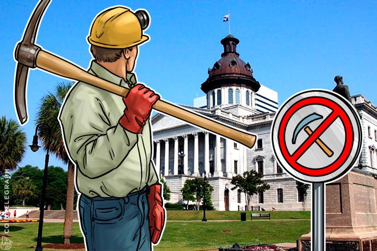 Carolina do Sul quer proibir a mineração da Genesis através os títulos não registrados