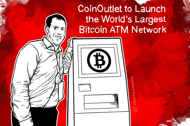 CoinOutlet to Launch the World's Largest Bitcoin ATM Network