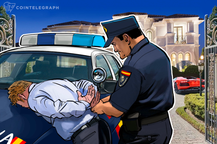 Russian-Ukrainian Cybercrime Gang Arrested In Spain, Allegedly Used BTC To Launder $1.24 Bln
