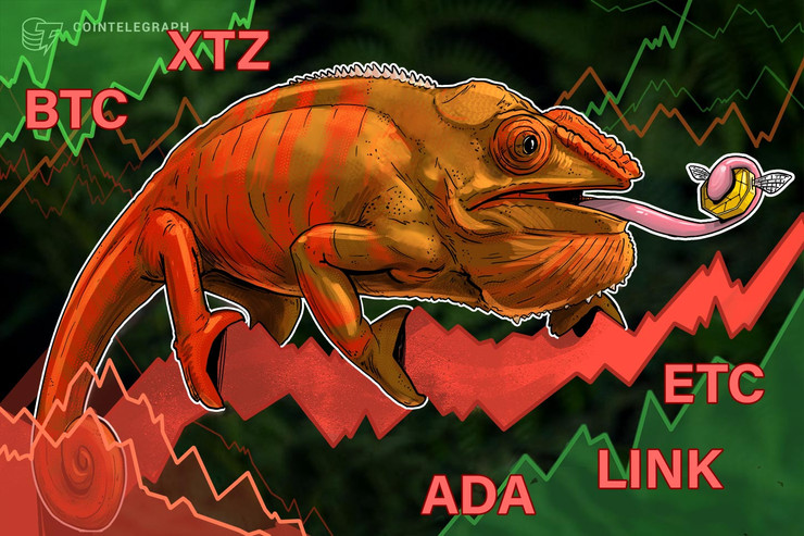 Top 5 Cryptocurrencies to Watch This Week: BTC, XTZ, ADA, LINK, ETC