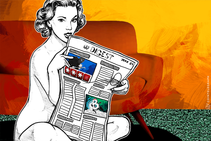 JUN 24 DIGEST: BitLicense Gives Crypto Businesses 45 Days to Comply, Canadian Bank CIBC Studying Blockchain Tech