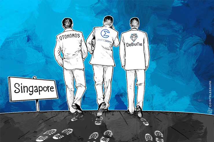 Singapore Govt-Backed FinTech Accelerator Boosts 3 Bitcoin Startups