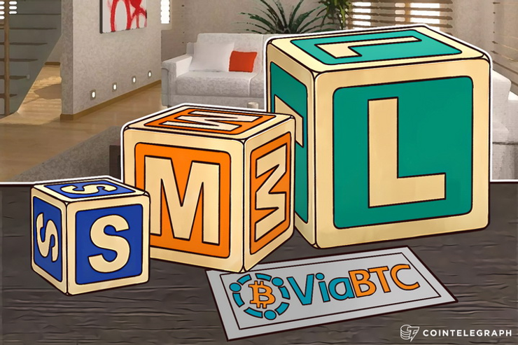 ViaBTC in Support of Big Blocks, Becomes 2nd Largest Mining Pool