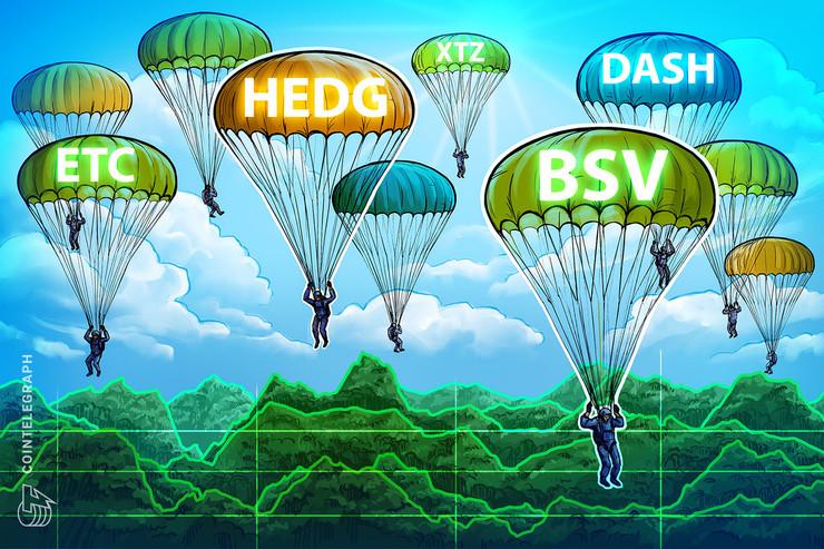 Las 5 criptomonedas con mejor desempeño de la semana (26 de enero): HEDG, DASH, BSV, ETC, XTZ