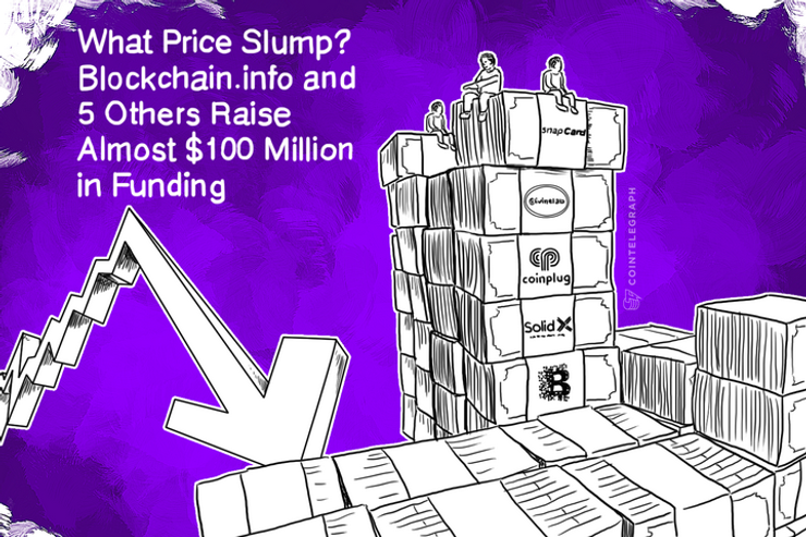 What Price Slump? Blockchain.info and 5 Others Raise Almost $100 Million in Funding