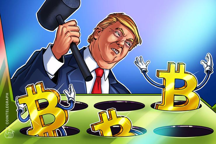 Bitcoin sobe para US$ 10.380 após Trump ameaçar repressão militar