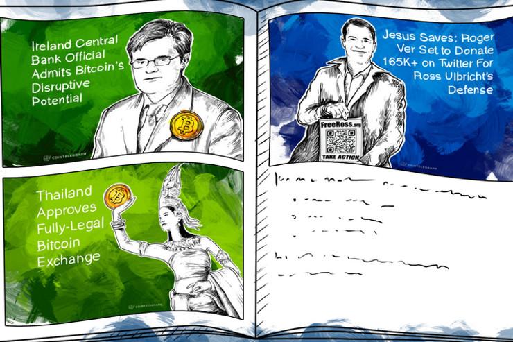 Weekend Roundup: New Exchanges in Thailand and Vietnam; Roger Ver Raises Money for Ulbricht's Defense Fund