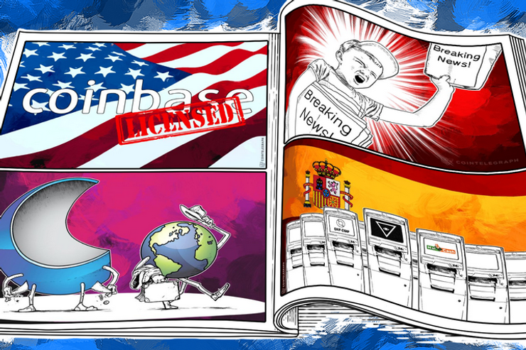 Weekend Roundup: Coinbase's Exchange, Cointerra Bankrupt, and Chinese Exchange Has 1,000 BTC Stolen