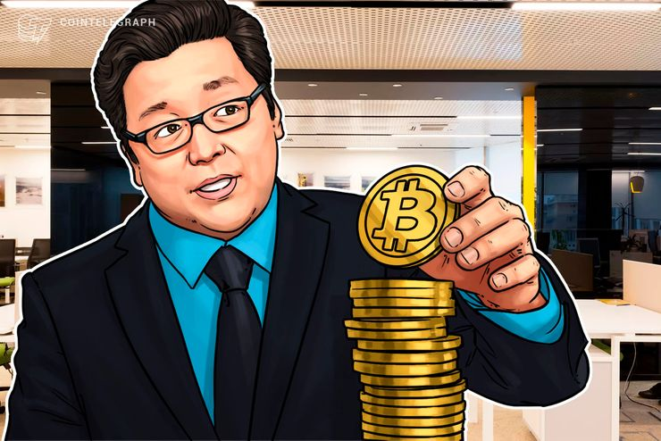Fundstrat's Tom Lee Says Fair Value of Bitcoin to Reach $150K Per Coin