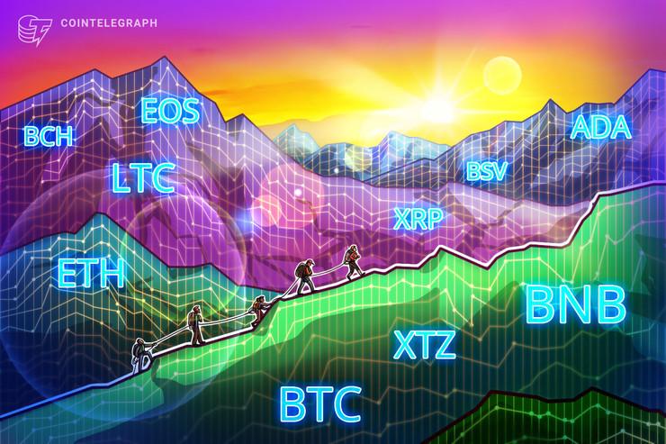 1万1000ドル以上への上昇なるか ビットコイン・イーサ・XRP(リップル)・ビットコインキャッシュ・ライトコインのテクニカル分析【仮想通貨相場】