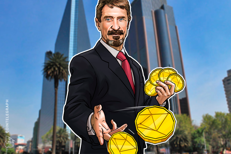 John McAfee Announces Crypto-Backed 'Fiat' Currency Redeemable for Face Time With Him