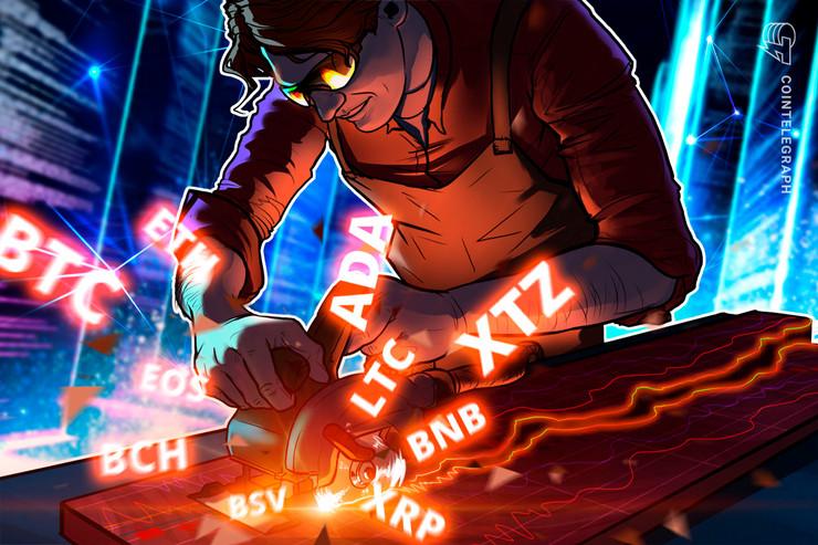 Price Analysis 5/25: BTC, ETH, XRP, BCH, BSV, LTC, BNB, EOS, XTZ, ADA