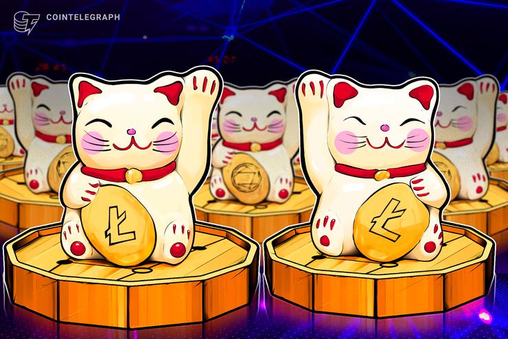 El precio de Litecoin no supera los USD 100 el día de la reducción a la mitad