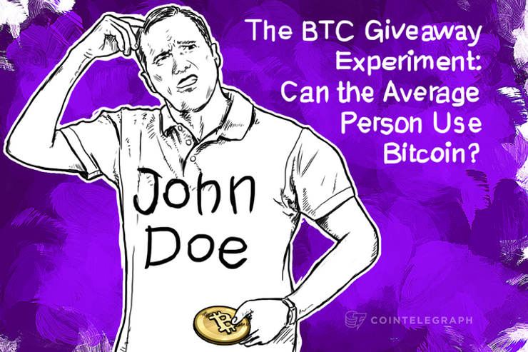The BTC Giveaway Experiment: Can the Average Person Use Bitcoin?