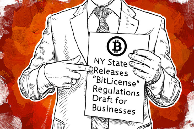 """NY State Releases """"BitLicense"""" Regulations Draft for Businesses"""