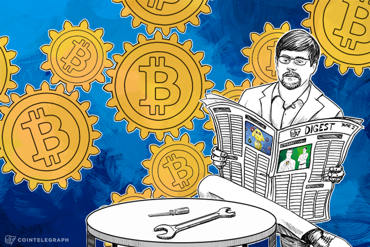 JUN 2 DIGEST: BitFury to Release Light Bulbs that Mine Bitcoin, Corporate Finance getting into Crowdfunding