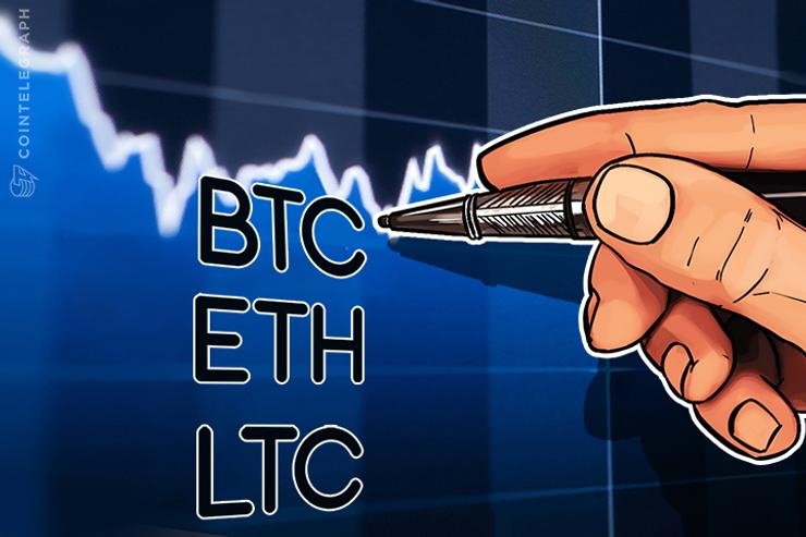 Análise de Preço: Bitcoin, Ethereum e Litecoin