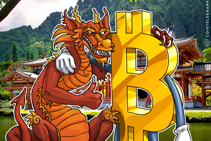 Bitcoin Price Surpasses $1000 in China and South Korea, Again