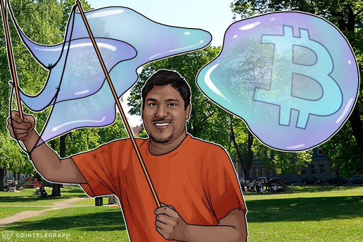 Vinny Lingham: No Bitcoin Bubble Unless It Grows Over $2000 By March 2017