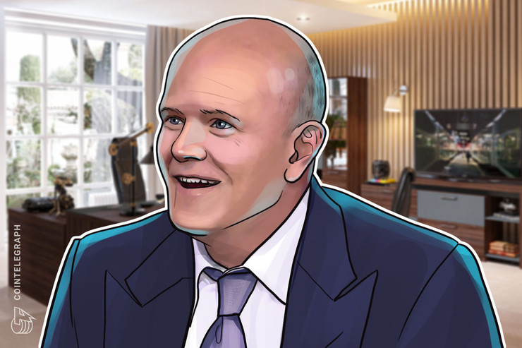 'Best Brand' Bitcoin Can Hit $20K by May Halving, Says Mike Novogratz