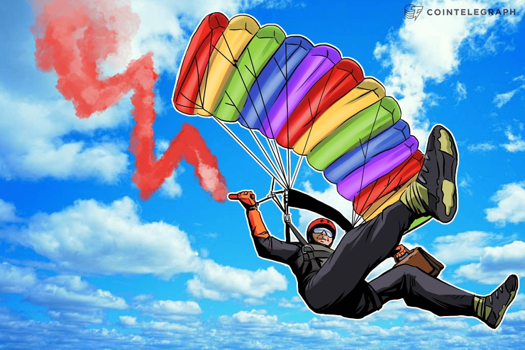 Mercados cripto estão no vermelho, capitalização total de mercado abaixo de quase $15 Bilhões