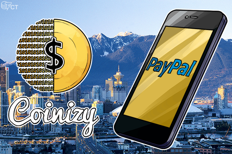 Coinizy Brings the World's First Bitcoin to PayPal Exchange