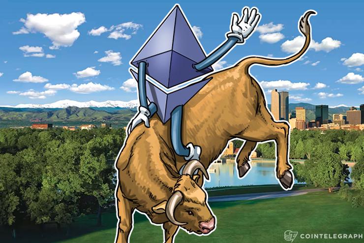 Ethereum rompe récords de transacción Blockchain, precio constante
