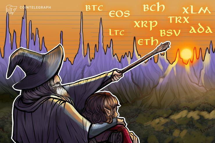 Kursanalyse, 26. Januar: Bitcoin, Ripple, Ethereum, Bitcoin Cash, EOS, Stellar, Litecoin, Tron, Bitcoin SV, Cardano