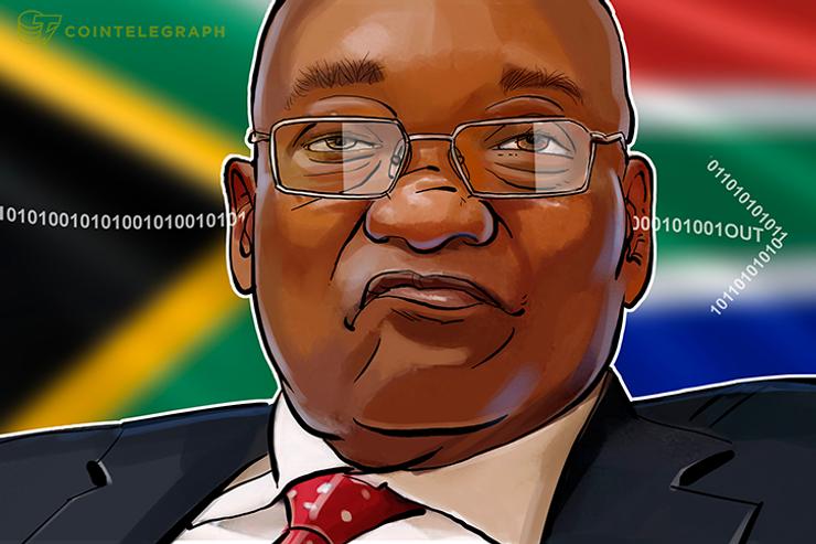 Presidente sul-africano sai de cena e os bancos abraçam a tecnologia Blockchain