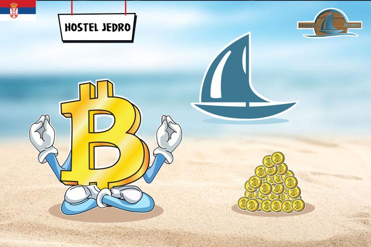 Hostel Jedro omogućio plaćanja u bitkoinu