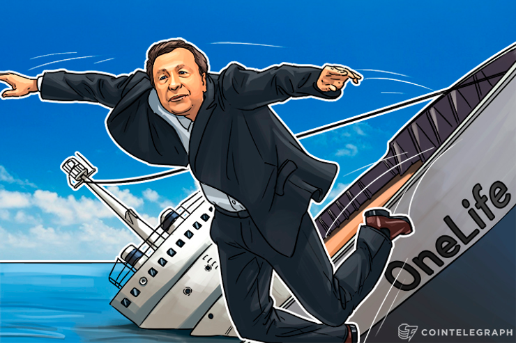 Clampdown on OneCoin Intensifies, OneLife CEO Abandons Ship