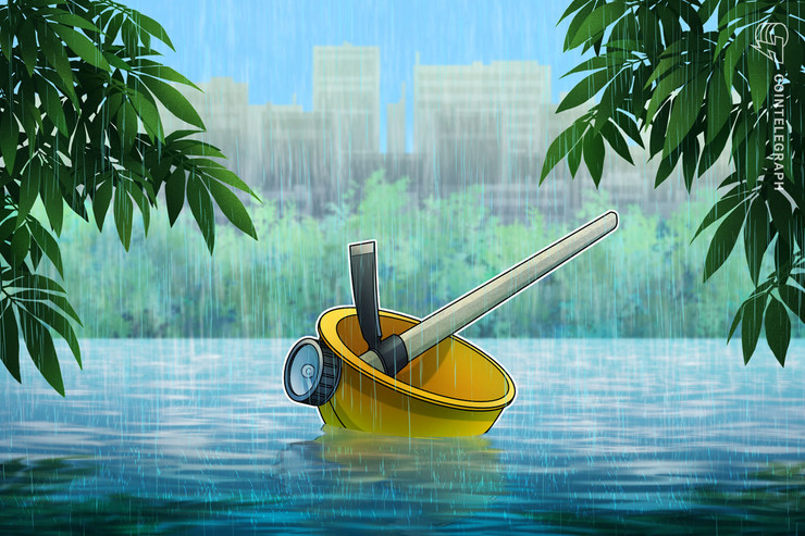 Sichuan Rainy Season to Give Bitcoin Hash Rate a Much Needed Jolt