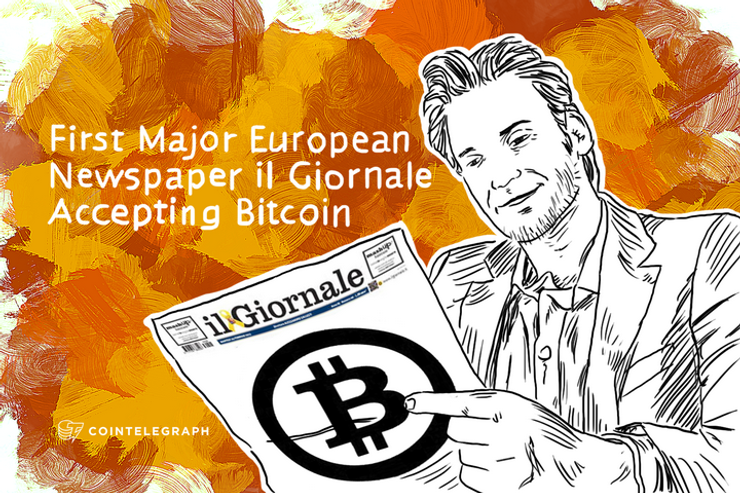 First Major European Newspaper il Giornale Accepting Bitcoin