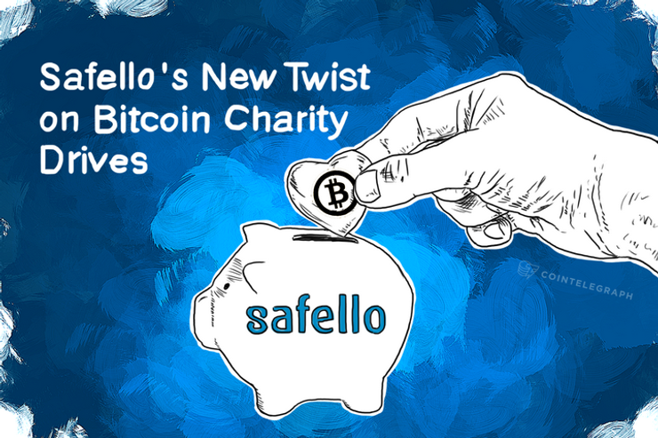 Safello's New Twist on Bitcoin Charity Drives