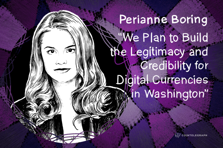 """We Plan to Build the Legitimacy and Credibility for Digital Currencies in Washington"" - Interview with Perianne Boring from Forbes"