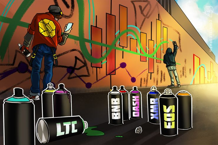 Top 5 Crypto Performers Overview: Litecoin, Binance Coin, EOS, Dash, Monero