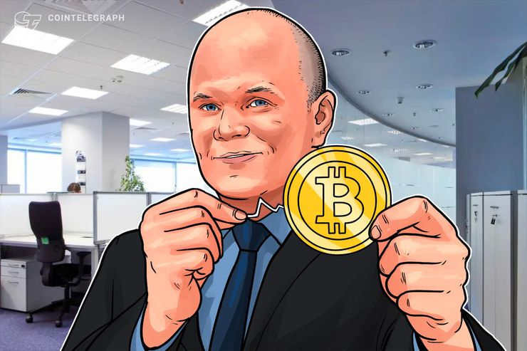 Secondo Mike Novogratz, CEO di Galaxy Digital, Bitcoin ha quasi terminato il proprio declino