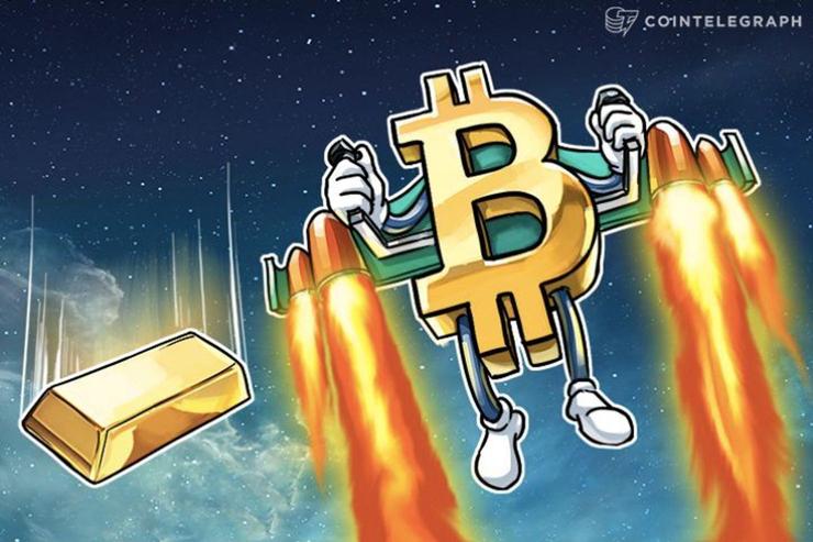 仮想通貨ビットコインと金、どっちが良い?米投資顧問が若い投資家に質問 結果は「圧勝」