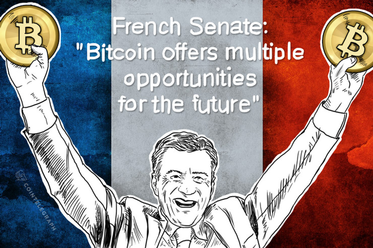 """French Senate: """"Bitcoin offers multiple opportunities for the future"""""""