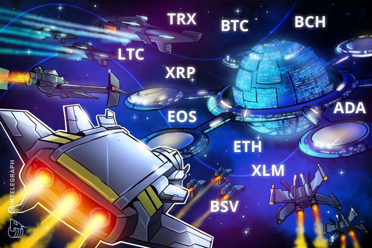 Bitcoin, Ripple, Ethereum, Bitcoin Cash, EOS, Stellar, Litecoin, Bitcoin SV, TRON, Cardano: Análise de preços de 31 de dezembro de 2018