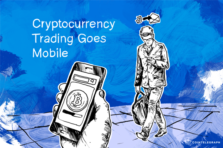 Cryptocurrency Trading Goes Mobile