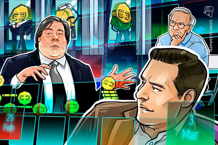 Hodler's Digest, Feb. 25–March 3: Top Stories, Price Movements, Quotes and FUD of the Week