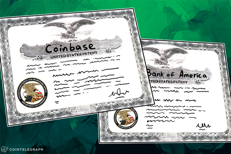 Bank of America's and Coinbase's Bitcoin Patents Revealed