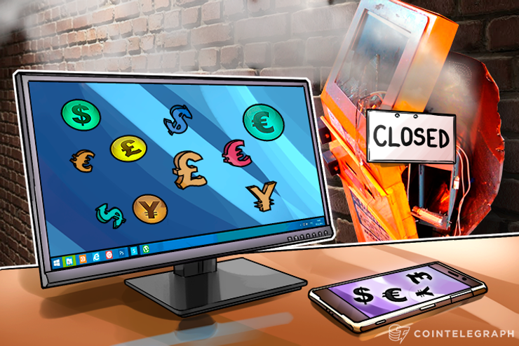 Internet and Mobile Banking Kills ATMs, Opens the Floodgates to Cryptocurrencies
