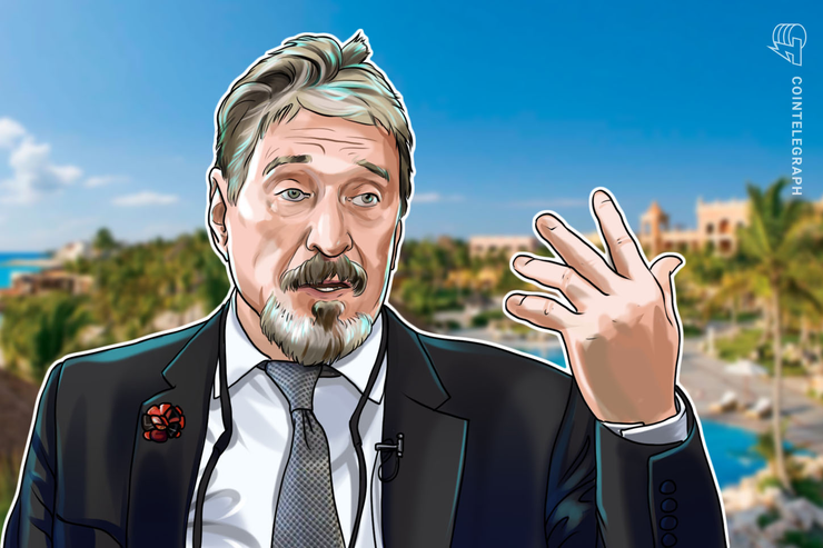John McAfee Back in Jail Hours After Release in Dominican Republic