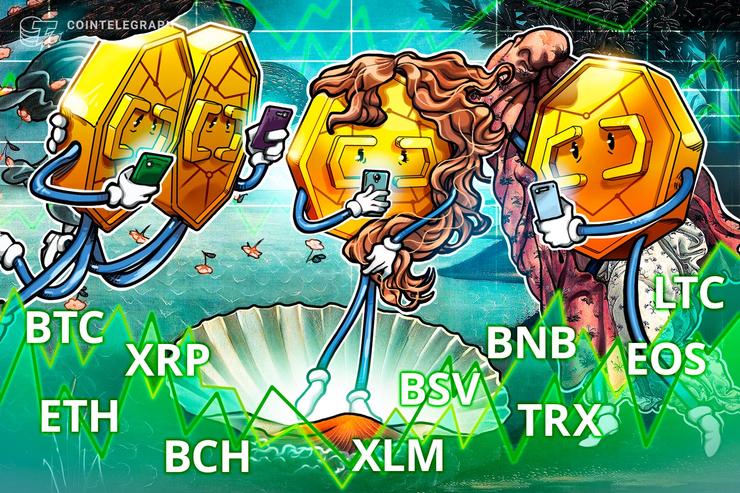 ネガティブなパターンが出現 仮想通貨ビットコイン・イーサリアム・リップル(XRP)のテクニカル分析