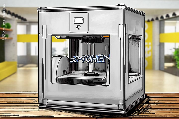 Startup Wants to Connect Thousands of 3D-printers in a Blockchain-based Network Hub