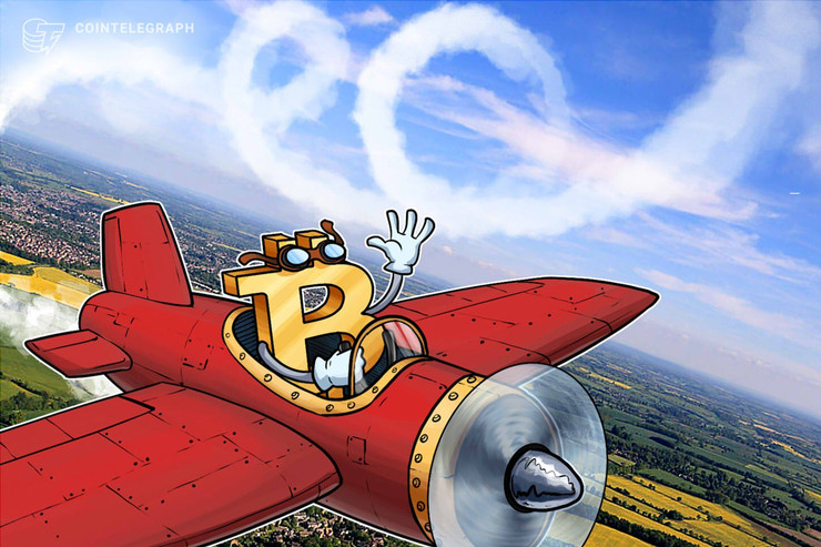 5分で500ドル下落したビットコイン、調整局面か【仮想通貨相場】