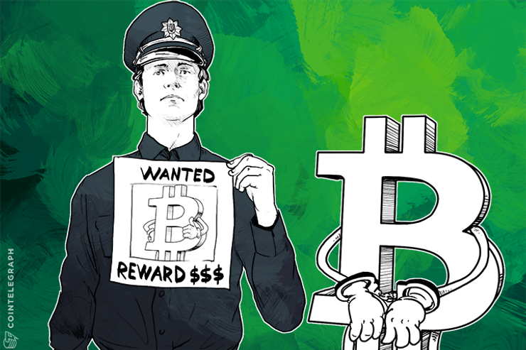 Bitcoin as a PR trick for Ukrainian 'militsiya' to promote themselves to the 'Cyber Police'